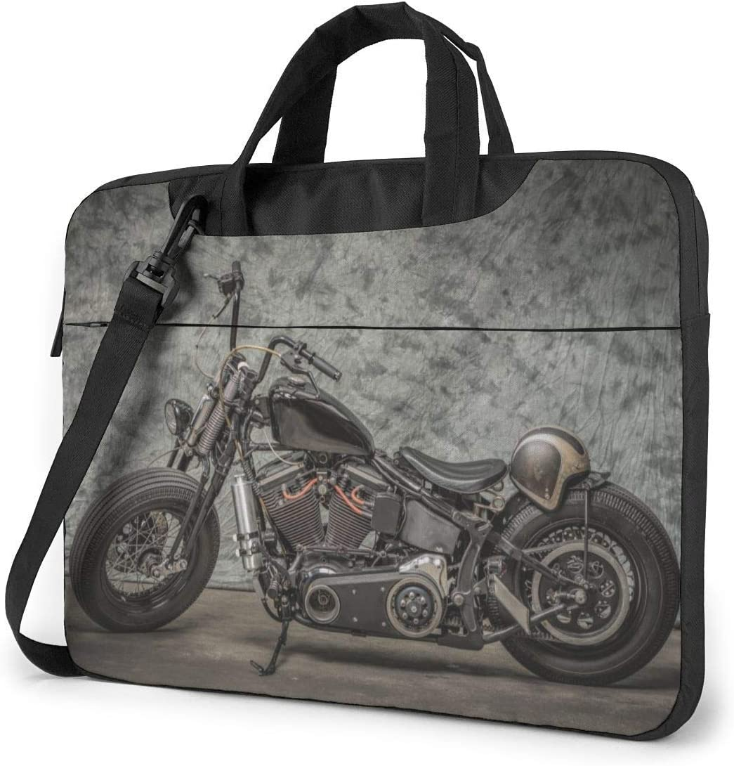 Har-Ley Motorcycle Laptop Shoulder Bag 15.6 Inch Laptop Messenger Case Funda para portátil con Correa