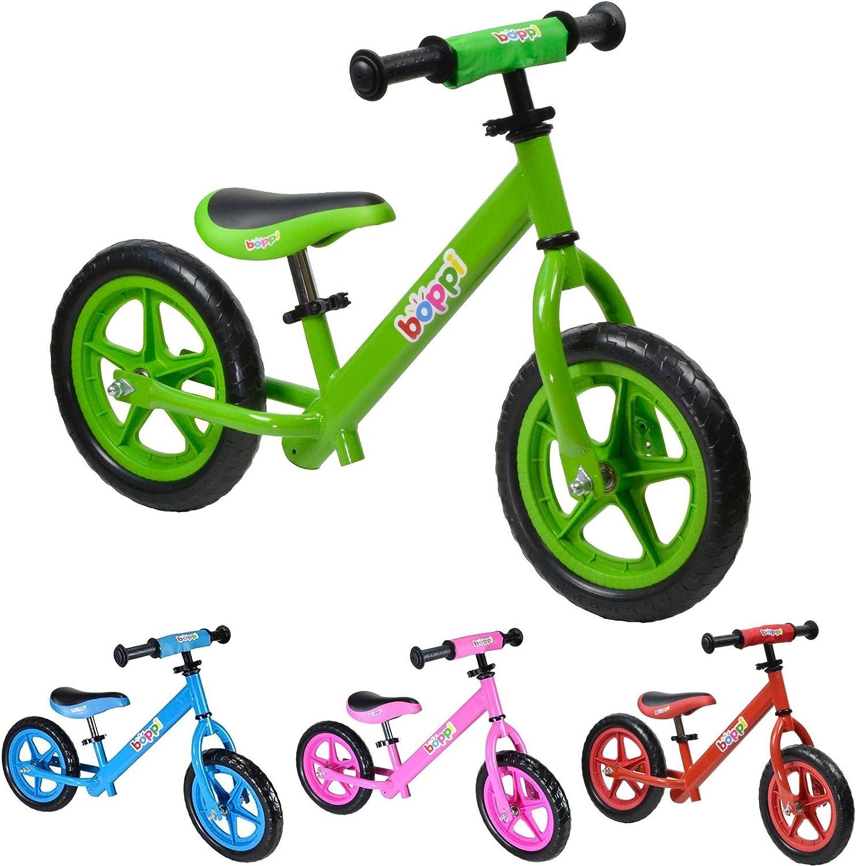 boppi® Bicicleta sin Pedales de Metal para niños de 2-5 años - Verde