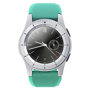 Reloj Inteligente QIMAOO G8 Smart Watch Multifunción Impermeable Bluetooth 4.0 Fitness Tracker, Reloj Deportivo con Podómetro,Presión Sanguínea, Sueño, ...