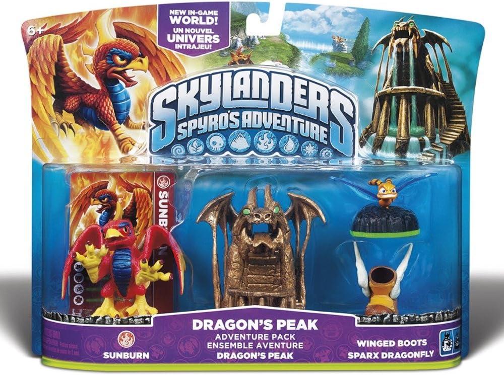 Skylanders Spyros Adventure Pack: Dragons Peak by Activision: Amazon.es: Videojuegos