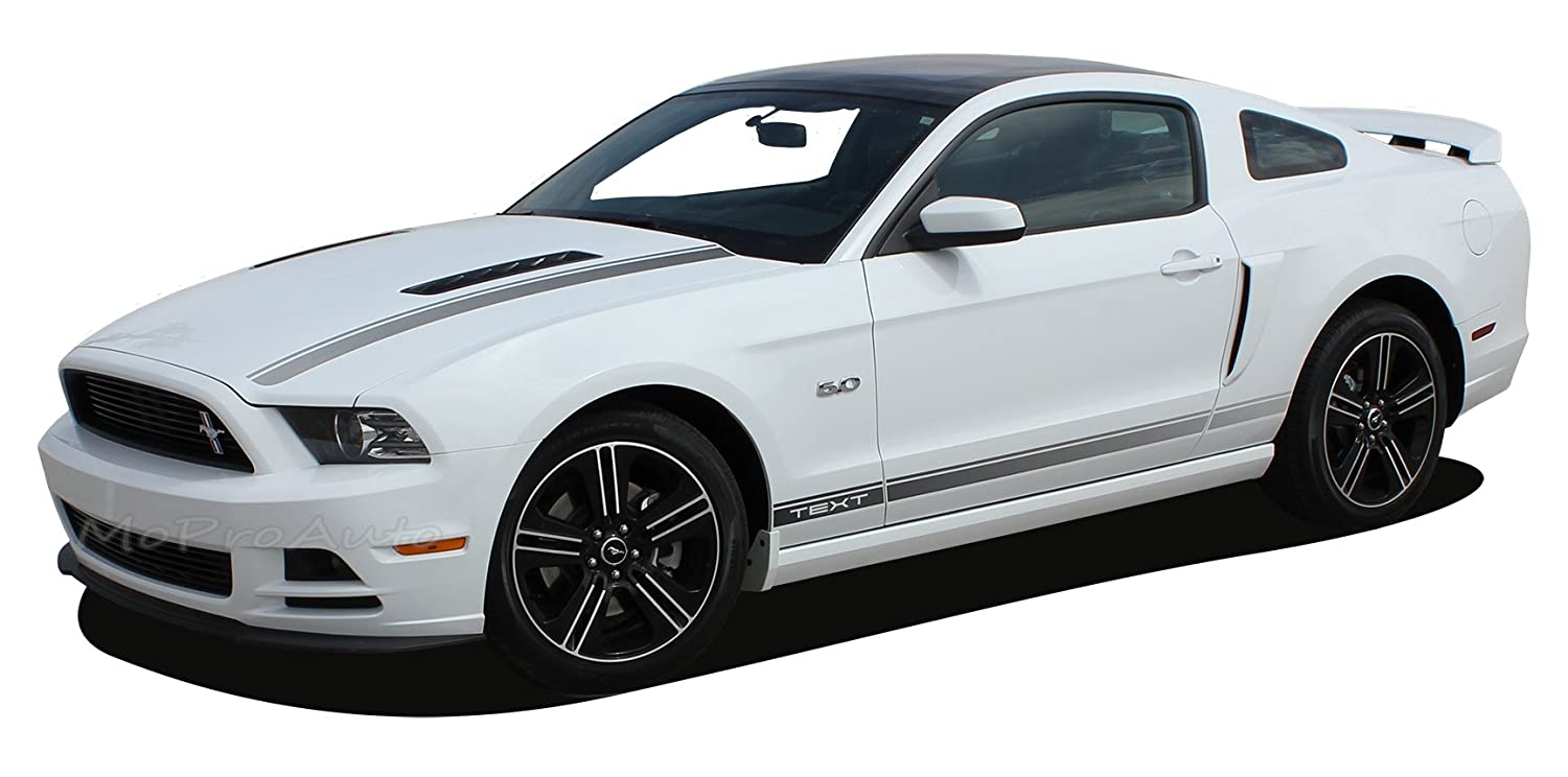 Mustang cali 2013 2014 ford mustang california special gt cs style lower rocker panel screen print design vinyl graphic decal stripes fits all models