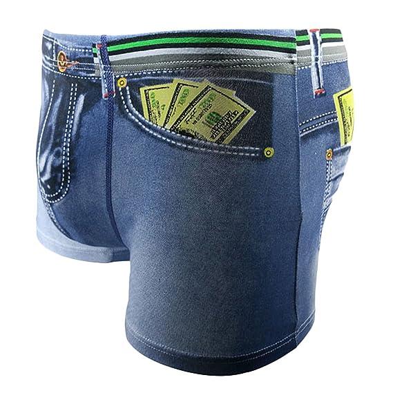 MagiDeal Bóxer 3D de Algodón de Hombres Underwear Ropa Interior de Hombres Pantalones Cortos Forma de