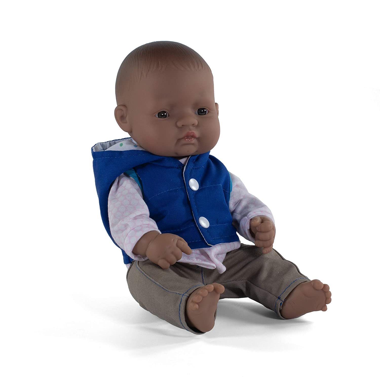 Miniland Educational 12.63 Anatomically Correct Newborn Baby Doll Hispanic Boy