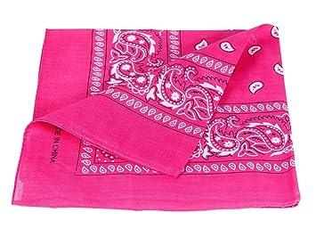 529fdd63e2a5 Bandana disponible en différentes couleurs de très haute qualité 100% coton,  environ 54 x