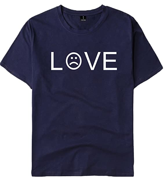 SERAPHY R.I.P Lil Peep Rapper Hip Hop Spring Camiseta para Hombre Camiseta Unisex Harajuku Casual Camiseta Hombres/Mujeres Print Clothes: Amazon.es: Ropa y ...