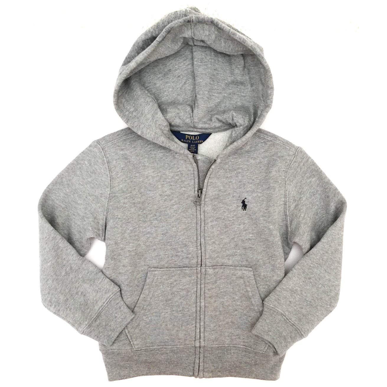 6ed3968127fc Amazon.com  Polo Ralph Lauren Boys Zip Up Hoodie  Clothing