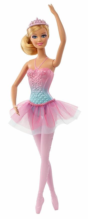 6eeb427449ff Amazon.com  Barbie Fairytale Magic Ballerina Barbie Doll  Toys   Games