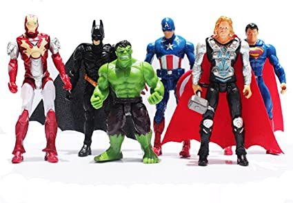 Marvel Avengers Hero 12 inch Batman Superman Hulk Action Figure Collection Gifts