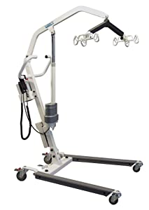 Lumex Battery-Powered Patient Lift, 400lb Weight Capacity, LF1050