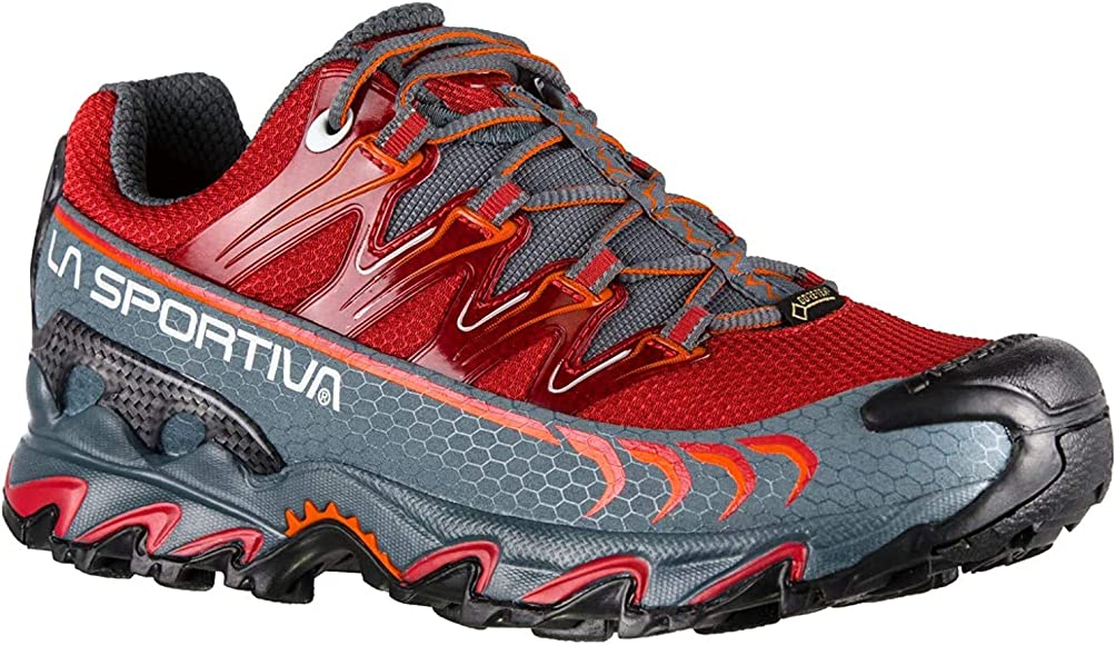La Sportiva Ultra Raptor Woman GTX, Zapatillas de Trail Running para Mujer, Multicolor (Garnet/Slate 000), 36 EU: Amazon.es: Zapatos y complementos