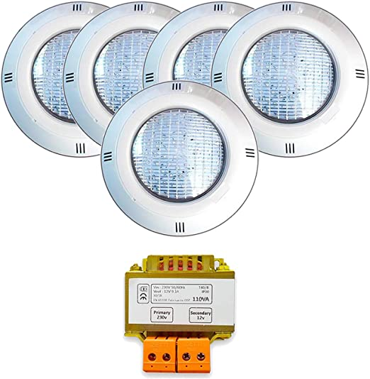 Warmpool Pack Proyectores LED para Piscina RGB ON/Off + ...
