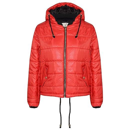 a9f0fd7a1 Amazon.com  A2Z 4 Kids® Girls Jacket Kids Bella High Shine Red ...