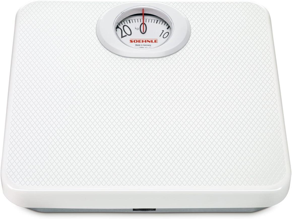 Soehnle Standard 61012 6118 - Básculas de baño: Amazon.es: Salud y cuidado personal