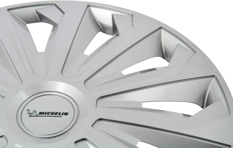 15/ Grey Set of 4 MICHELIN 009127/Wheel Trims
