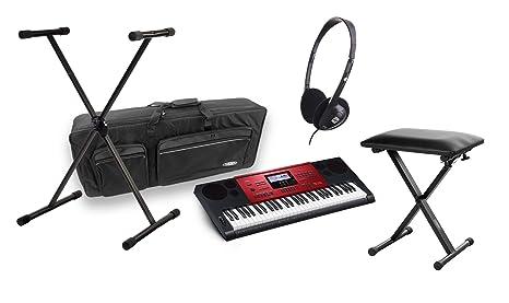 Casio CTK-1100 6250 High Grade de Keyboard Deluxe Set con ...