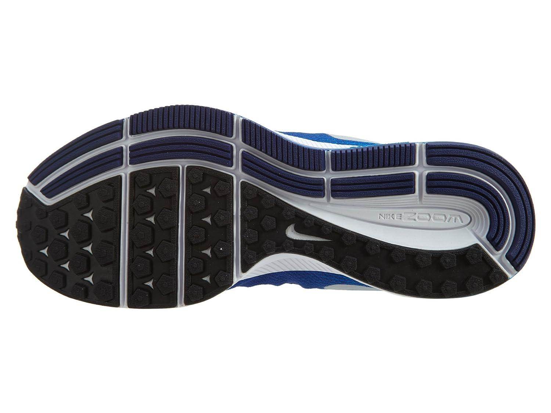 Amazon.com   Nike Boys Zoom Pegasus 33 (Little), Game Royal/Photo Blue/Deep Royal Blue/Metallic Silver, 7 Big Kid M   Running