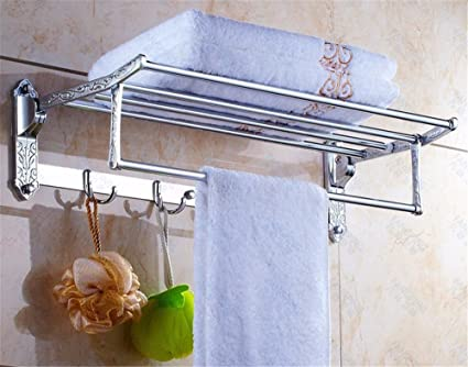 WangYangDaHai Accesorios de Baño, Toalla de baño o Cocina Bar Titular de Rack de Almacenamiento