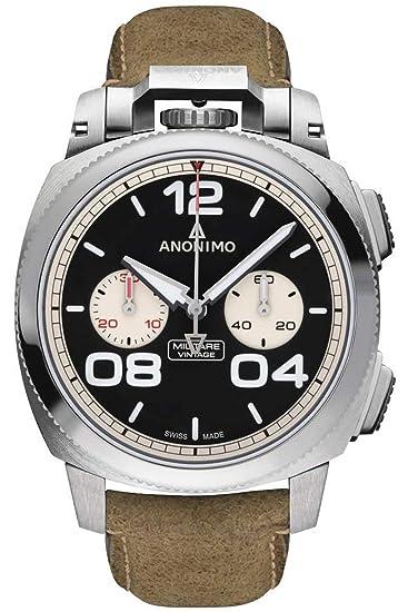 nuovo concetto c94e0 bc228 Anonimo militare orologio Uomo Analogico Automatico con ...
