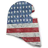 LoveBea Balaclava Oil Painting American Flag Full