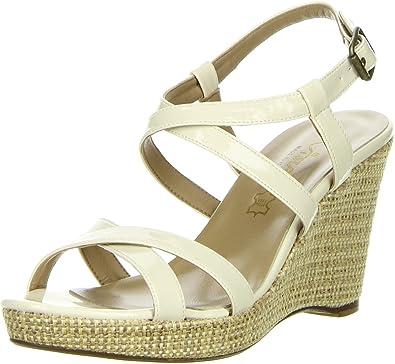 Vista Damen Sandaletten elfenbein