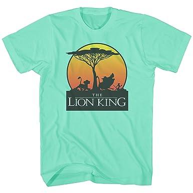d3ca81e2 Amazon.com: Disney Lion King Sunset Pride Stroll Africa Simba Mufasa  Disneyland World Tee Adult Men's Graphic T-Shirt Apparel: Clothing