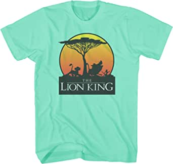 Disney Lion King Sunet Pride Stroll Pumbaa Timon Africa Simba Mufasa Disneyland World Tee Adult Men's Graphic T-Shirt Apparel