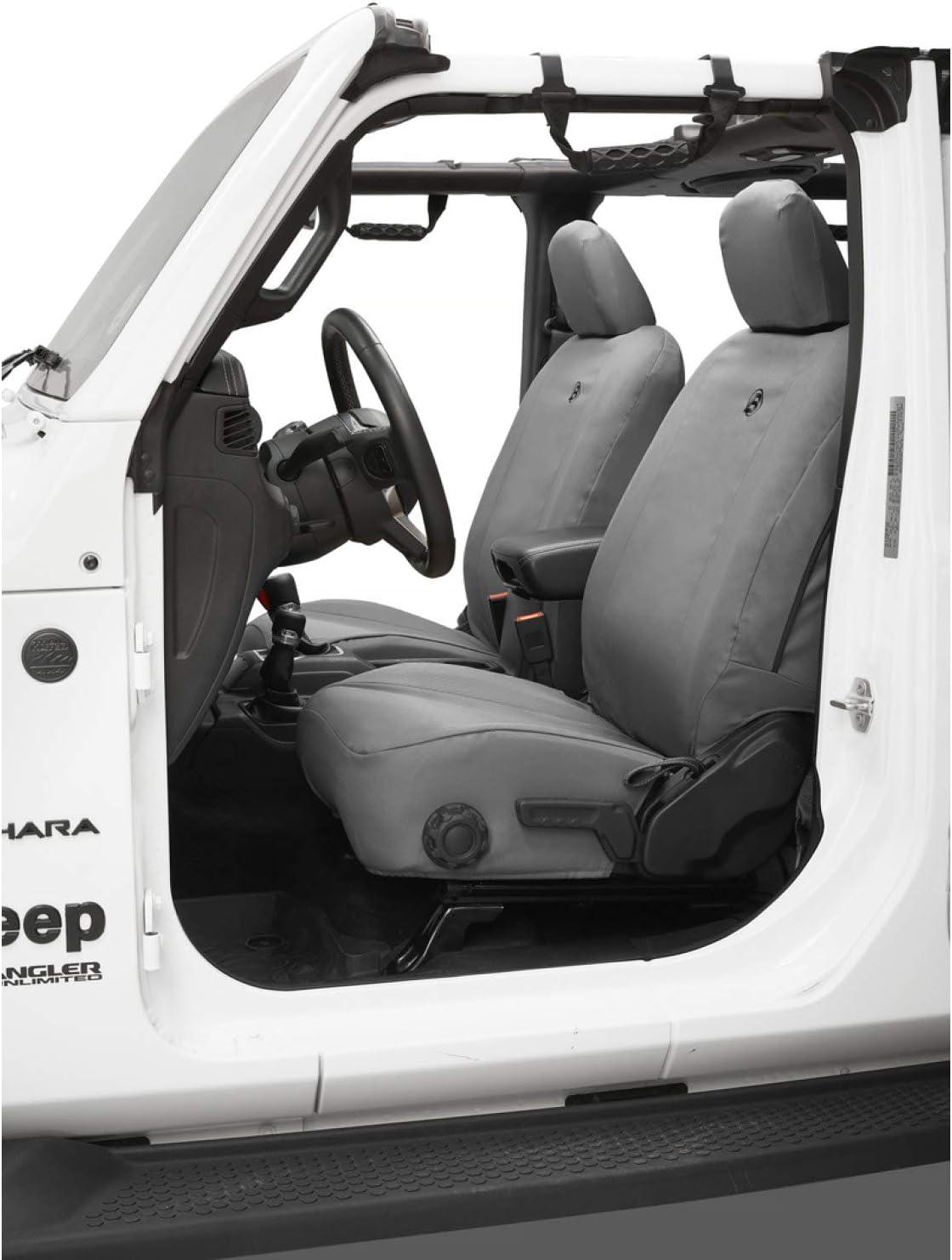 Jeep Wrangler 2018-Current JL 2-Door Bestop 2929309 Charcoal Seat Cover Front