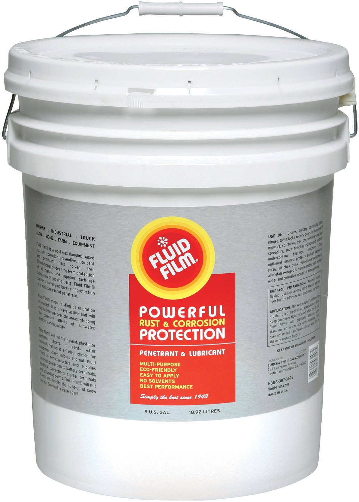 Fluid Film 5 Gallon Pail NAS by Fluid Film
