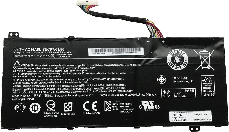 Dentsing AC14A8L Battery for ACER Aspire VN7-571 VN7-571G VN7-591 VN7-591G VN7-791G AC14A8L