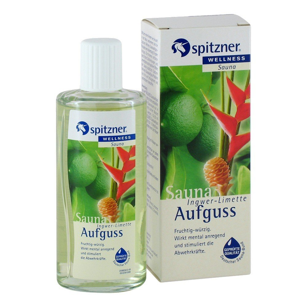 Ginger & Lime Sauna Infusion (190 ml) from Spitzner