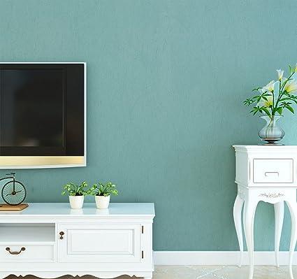 Modern Minimalist Solid Color Wallpaper Silk Non Woven