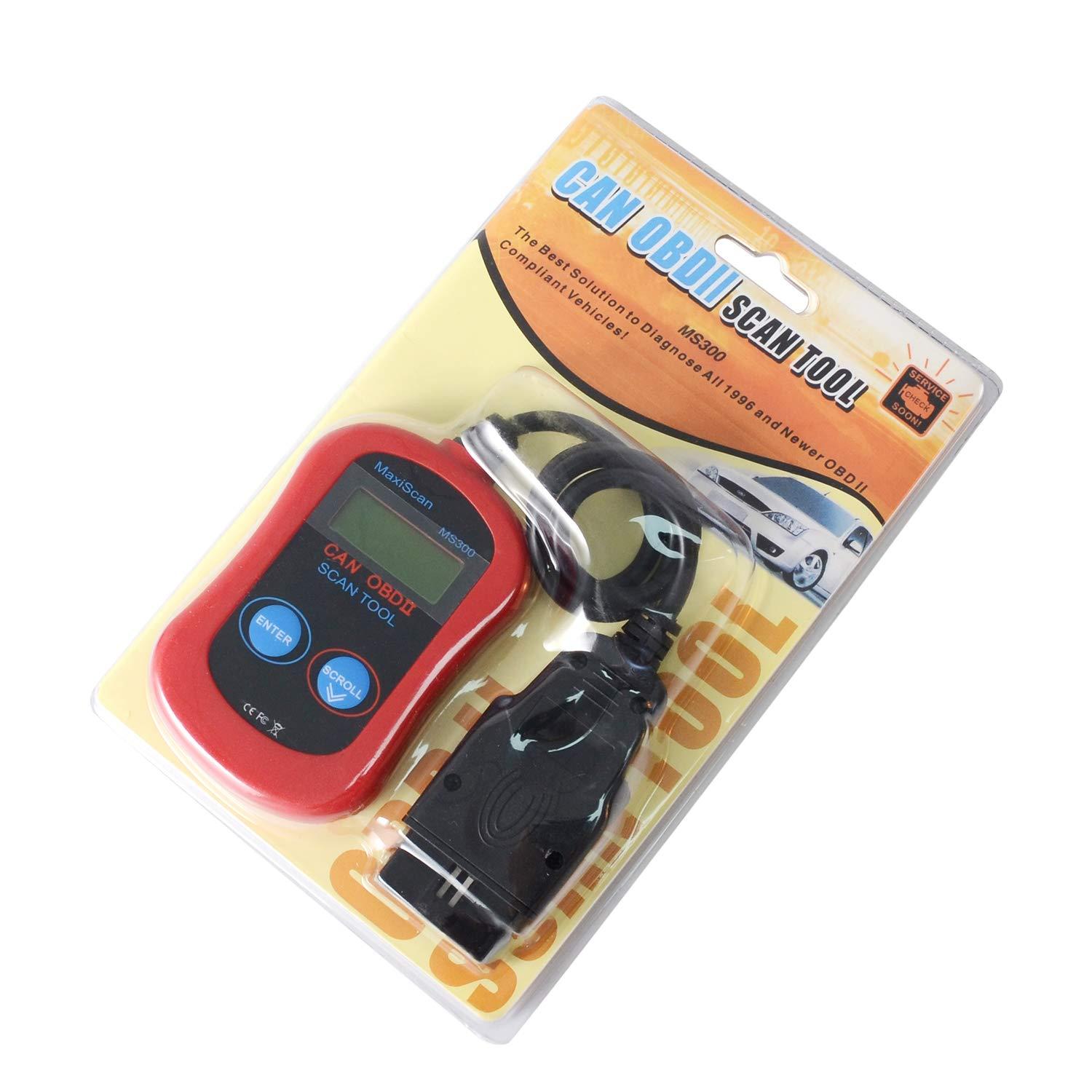 CESHUMD OBD2 Scanner Auto Car OBDii 2 Code Reader Can Diagnostic Scan Handheld Tool Check Engine Light Trouble Codes Vehicle