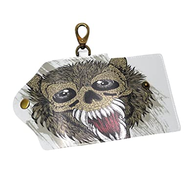 Amazon.com  QIAOSHENG Terror Animal Head Key Holder Case 0b5ec268a