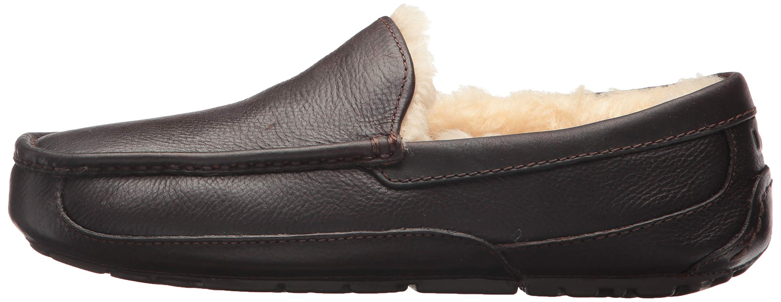 UGG Men's Ascot Slipper, China Tea Leather, 15 M US by UGG (Image #5)