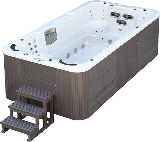 Trade-Line-Partner Jacuzzi-piscina de exterior, 400 x 230 cm, para ...
