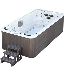 Trade-Line-Partner Jacuzzi-piscina de exterior, 400 x 230 cm,