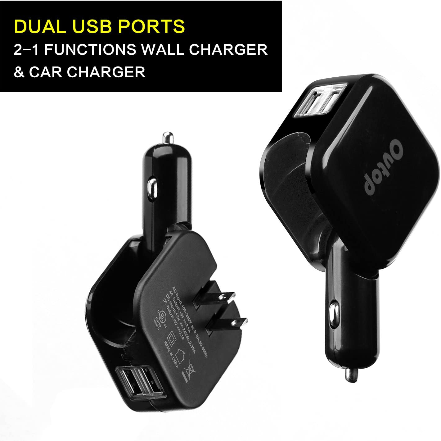 Nexus 6P Samsung Galaxy S9 S8 S7 S6 Edge Asiwo 3-Port USB Car Charger,Car Phone Smart Charger compatible iPhone X//8//8Plus 7 6S 6 Plus Mp3/&More Note 8 5 4 iPad