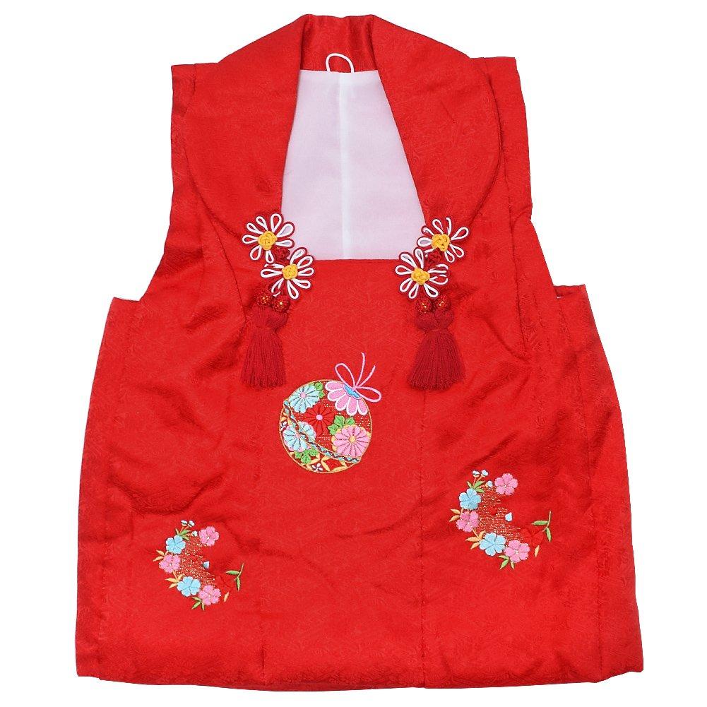 通販 [KIMONOMACHI] 女の子小物 女児 被布コート単品「赤色 鈴」3歳児用 女の子小物 鈴」3歳児用 お子様被布コート B07CR75D5D B07CR75D5D, マエテン:41bfe63d --- a0267596.xsph.ru
