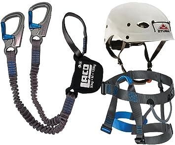 Stubai Klettersteigset : Klettersteigset lacd pro evo gurt easy ferrata helm stubai
