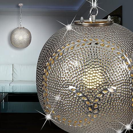 Mia Light Marrakesch techo Orient y plata/colgante lámpara ...