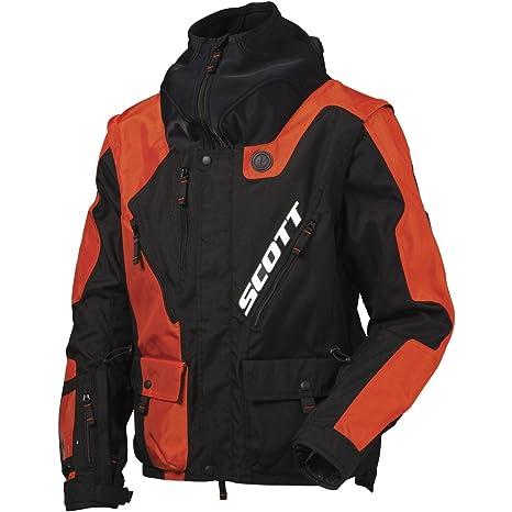 Scott 350 NB MX Enduro Moto Chaqueta Negro/Naranja 2016, hombre, color naranja