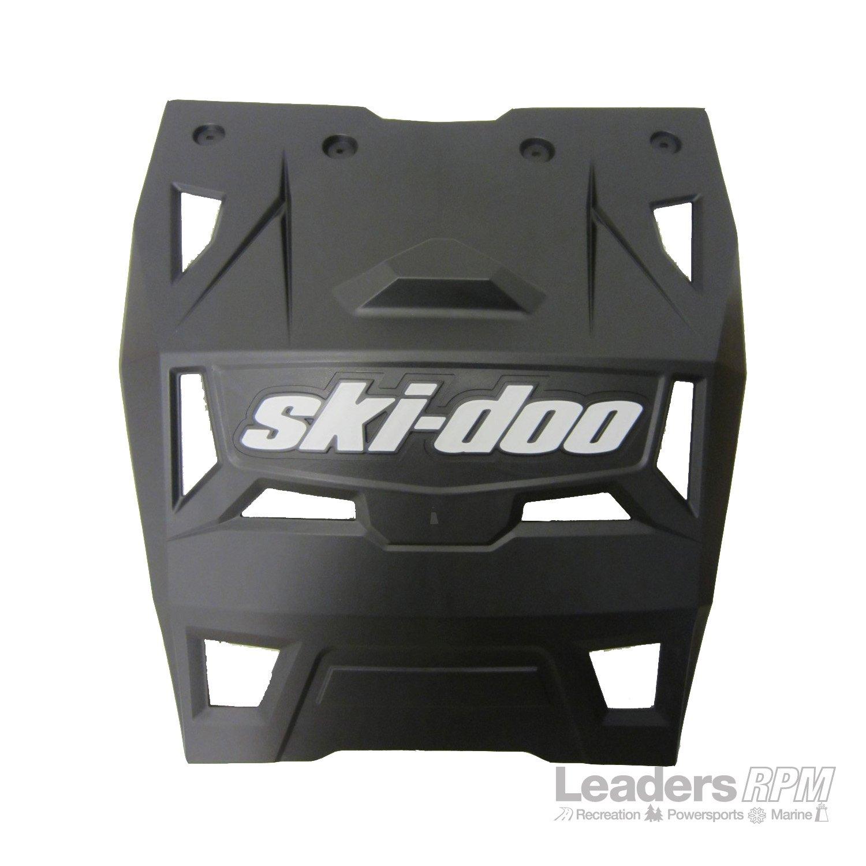 Ski-Doo New OEM Rear Snow/Mud Guard Flap- Summit Black w/White 520001300