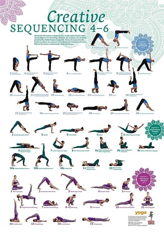 Creative sequencing 4 - 6 Póster De Yoga Yoga actuales ...
