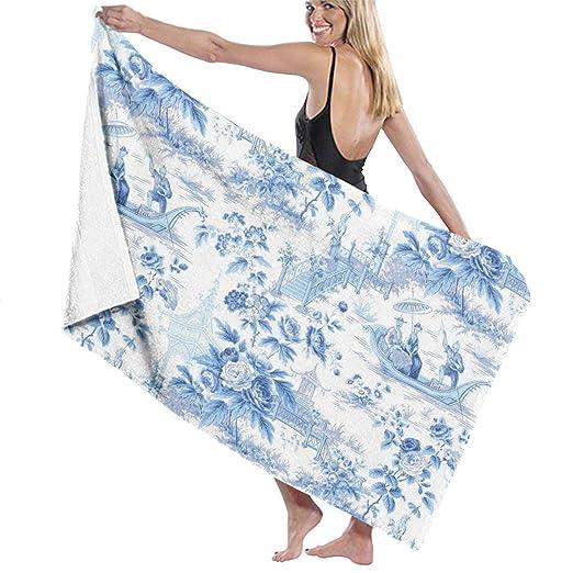 BLY SKUE Toalla de baño de Microfibra para Yoga, Viaje ...