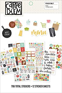 Simple Stories Recipe Sticker Tablet