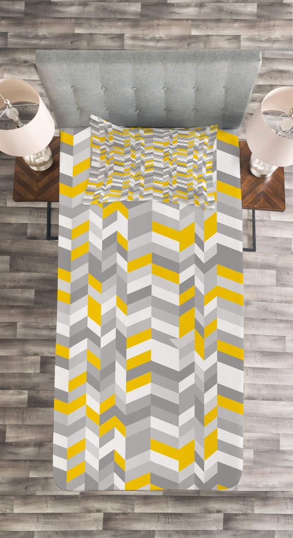 ABAKUHAUS Amerikanischer Ureinwohner Tagesdecke Set Set mit Kissenbezug Moderne Designs Ethnic Tribal Tile Beige Korallenrot Teal f/ür Einselbetten 170 x 220 cm