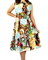 Women's Hemet Cowgirls and Horses Dress