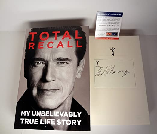 Total Recall Arnold Book