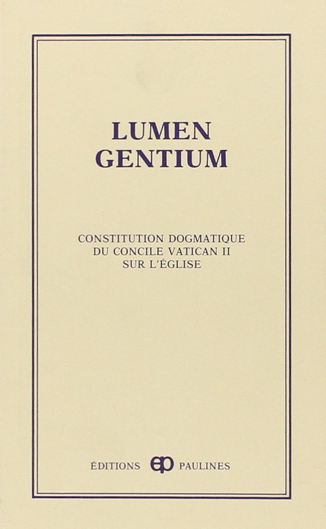 lumen gentium pdf descargar