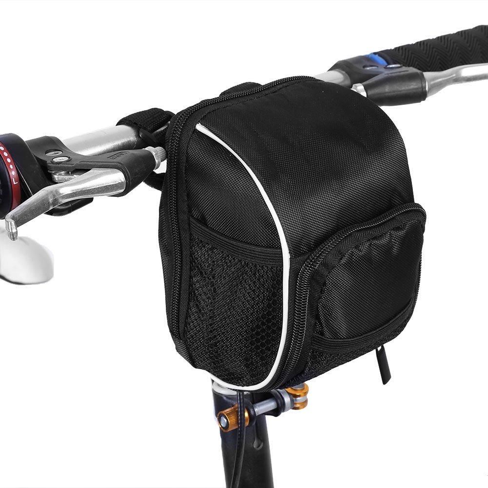 Multifunktions-Bike Lenkertasche Polyester Fahrrad Mountain vorne Top Frame Tube Lenkertasche mit Regenhülle